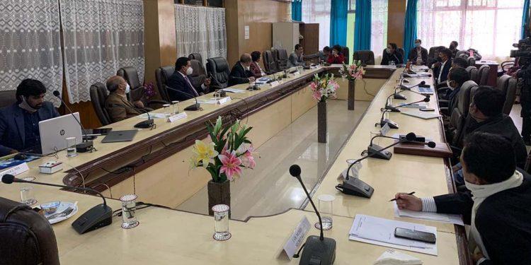 Meghalaya MLAs' meeting on COVID19