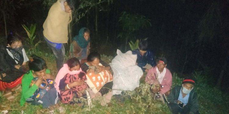 Mizoram-Tripura border people