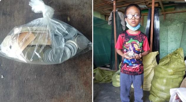 Mizoram boy's donation