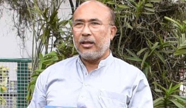 Chief Minister N Biren Singh