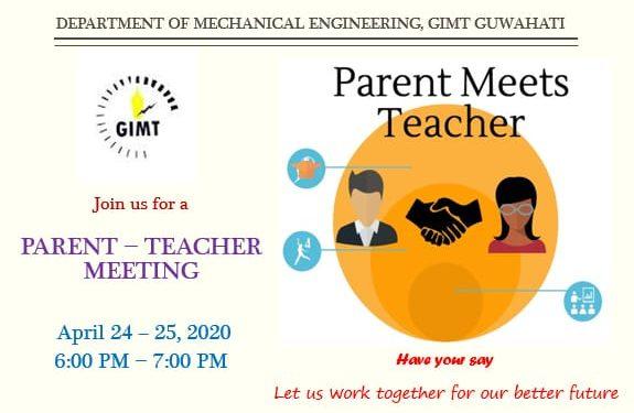Assam: GIMT conducts parents-teachers meet amid COVID-19 lockdown 1