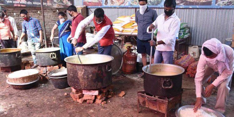 Representational image of a COVID-19 community kitchen