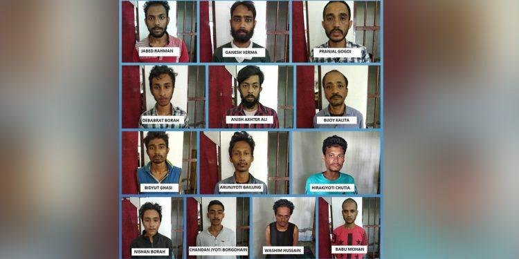 Assam: Sivasagar police nab 15 drug peddlers 1