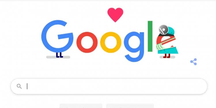 Google thanks medical staff with a doodle 1