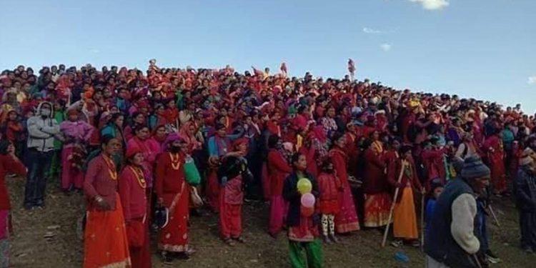 Banni Ki Chaitali festival. Image credit: THe Himalayan Times