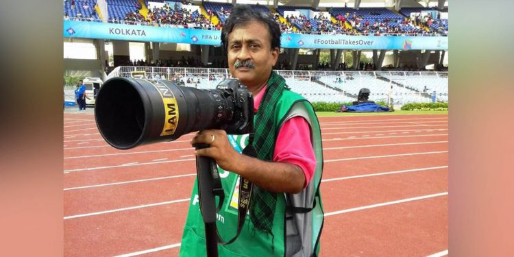 Bengal photojournalist Ronny Roy. Image credit: Outlook
