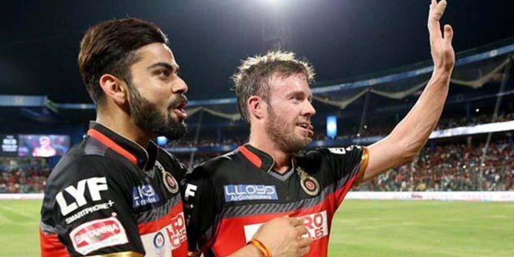 de Villiers with Kohli