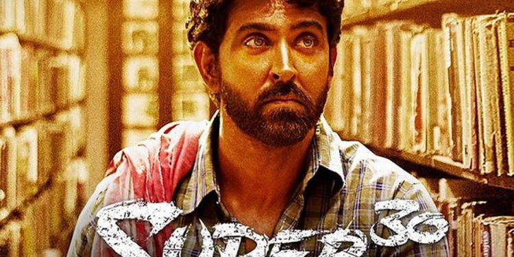 Super 30 poster. Image credit: Times of India