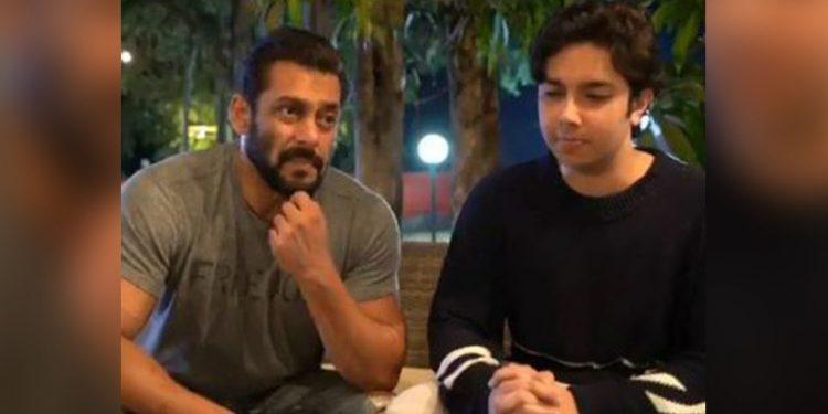 Salman Khan with his nephew Nirvan. Image credit: Gulf News