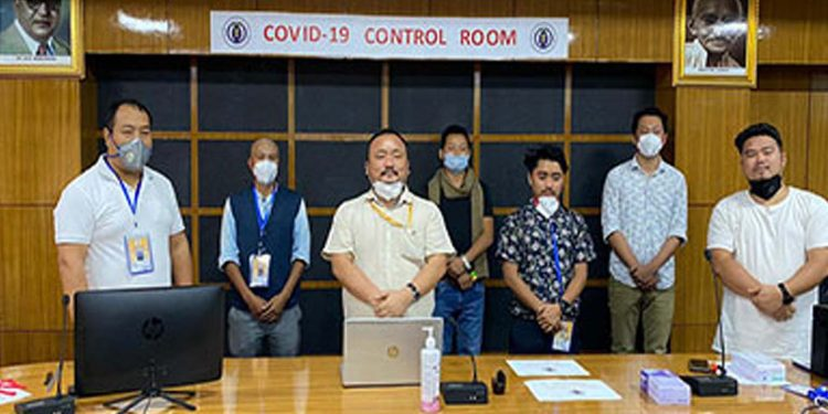 Control room formed in Arunachal Assembly