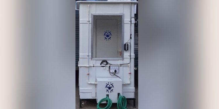DRDO develops kiosk for COVID-19 sample collection 1