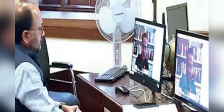 Uttar Pradesh minister for MSMEs. Siddharth Nath Singh.