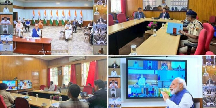 Video conferencing with Modi