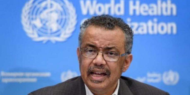 File image of WHO Director-General Tedros Adhanom Ghebreyesus