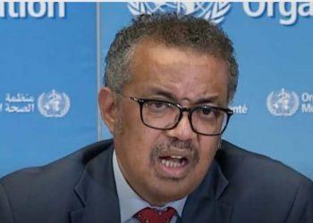 WHO chief Dr. Tedros Adhanom Ghebreyesus