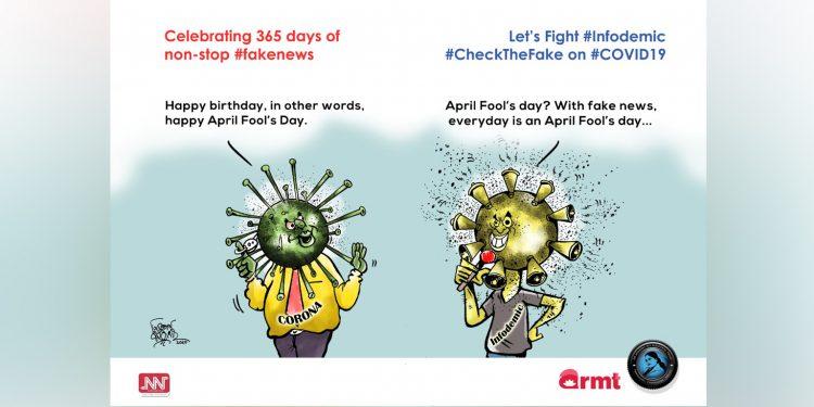 #CheckTheFake - 1: Celebrating 365 days of non-stop #fakenews 1