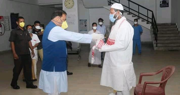 Assam: One more COVID-19 infected discharged from hospital 1