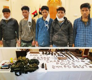 Assam: Five hardcore ULFA-I cadres held, huge cache of arms and ammunition recovered in Charaideo 3