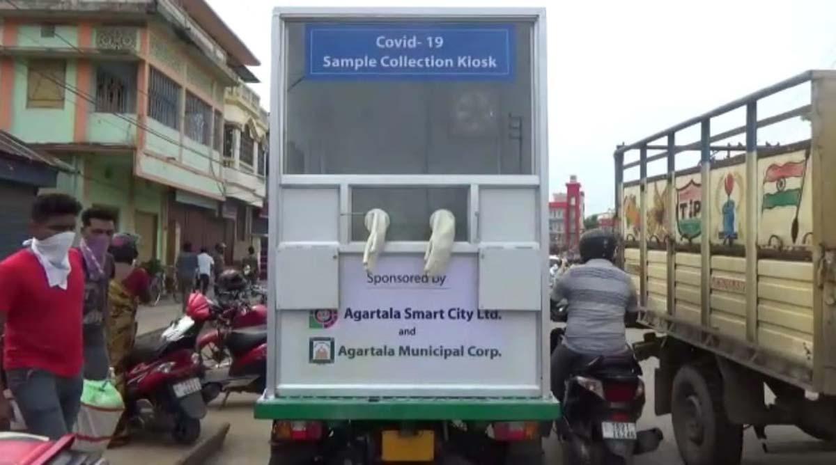 Tripura develops mobile COVID19 sample collection kiosk 4