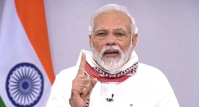 File image of Prime Minister Narendra Modi. Image: Northeast Now