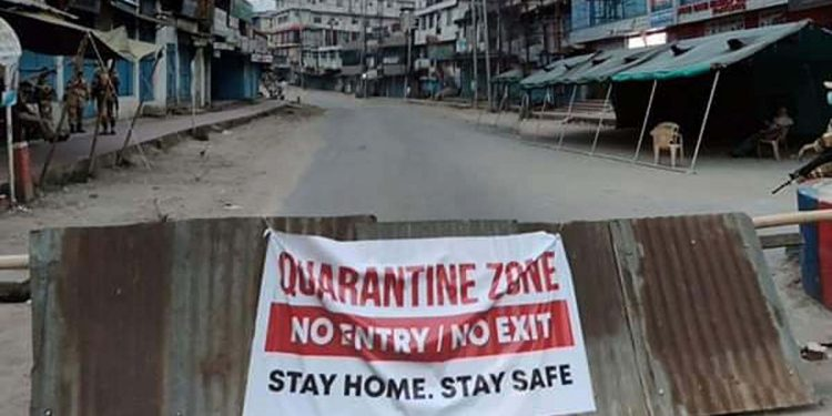 Dimapur area sealed