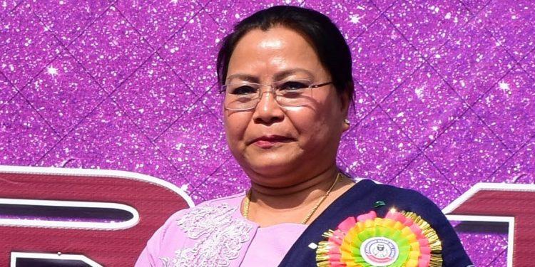 File image of Manipur social welfare minister Nemcha Kipgen