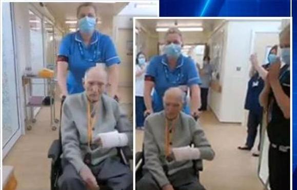 Chambers, who will be 100 in July next, was admitted to Doncaster Royal Infirmary hospital.