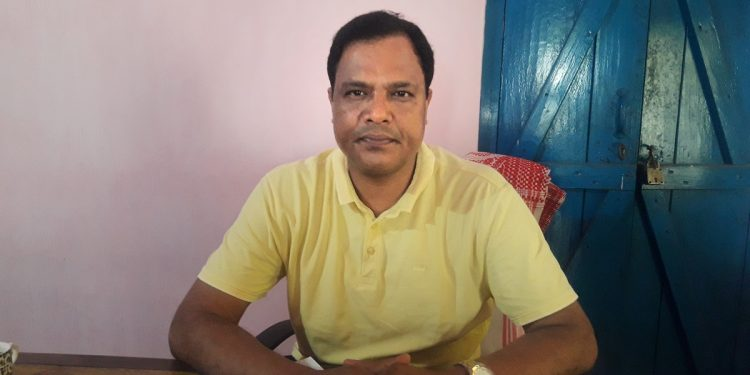 ACMS Mangaldai branch secretary, Santiuse Kujur. Image: Northeast Now