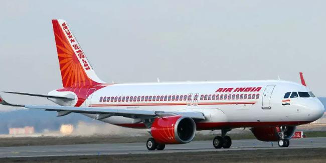An Air India flight.