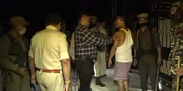Attack on Sonitpur police