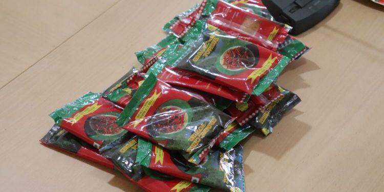 Chili Powers packet.