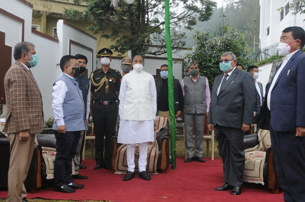 Sikkim celebrates 45th Statehood Day in solemn function