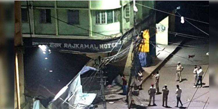COVID19: Hotel Rajkamal, nearby areas at Fancy Bazar in Guwahati declared Containment Zone 1