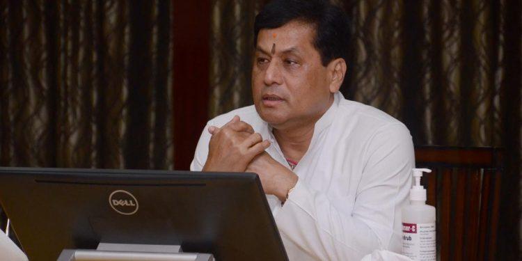 File image of Assam CM Sarbananda Sonowal.