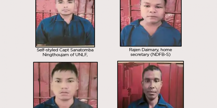 Myanmar Army hands over 22 'Most Wanted Militants' from Northeast India, including top UNLF and NDFB commanders 1
