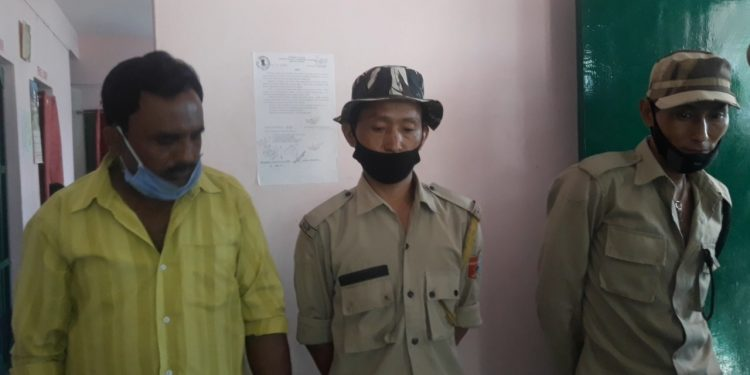 Along-with Ali, the police also arrested two constables of Naga Armed Police.