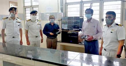 Eastern Naval Command based in Visakhapatnam has deployed the remote monitoring facility at Visakha Institute of Medical Sciences.