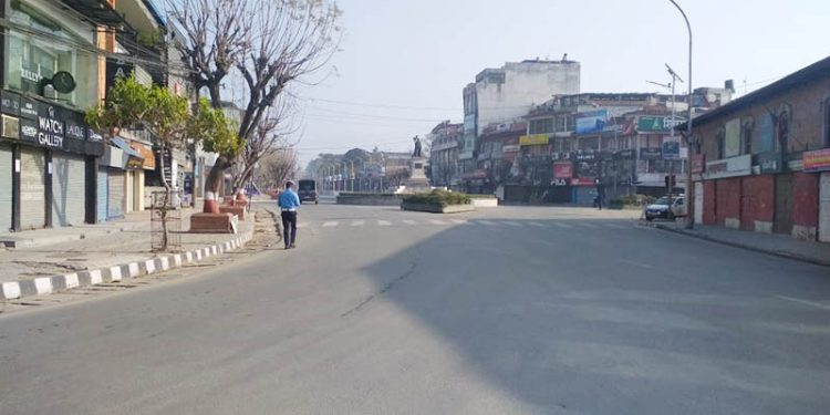 A deserted street during lockdown. (Image for representation)