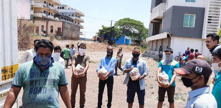 The relief material provided to many was a short-term solution and there was a desperate need for them to be sent back home.