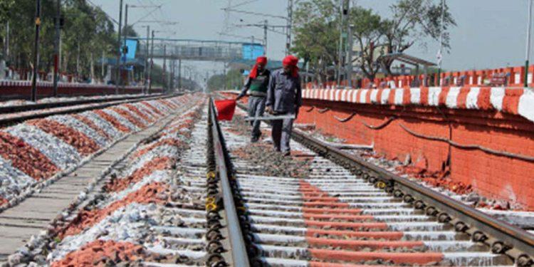 Railway maintenance work