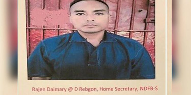 Rajen Daimary, home secretary of NDFB (S)
