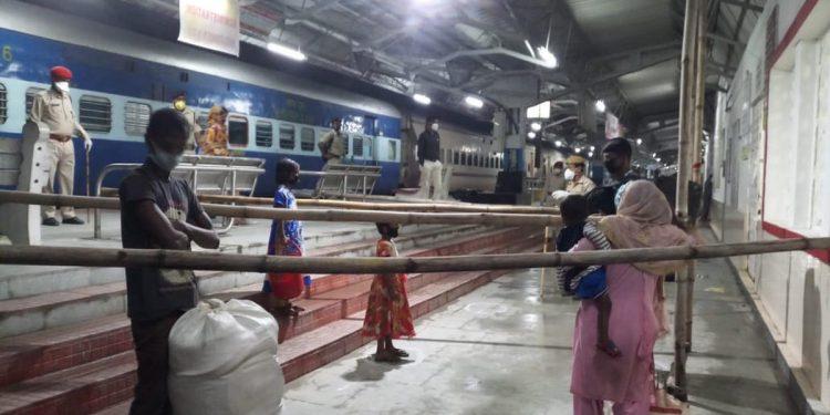Shramik Special train in Dhubri