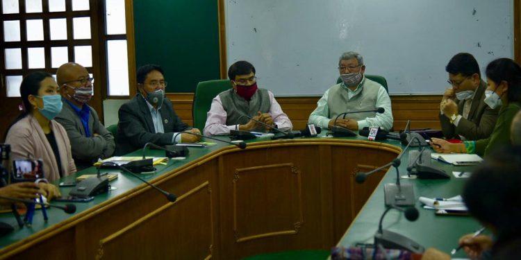 Sikkim education dept meeting