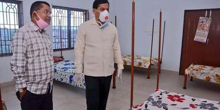 Sonowal in quarantine facility