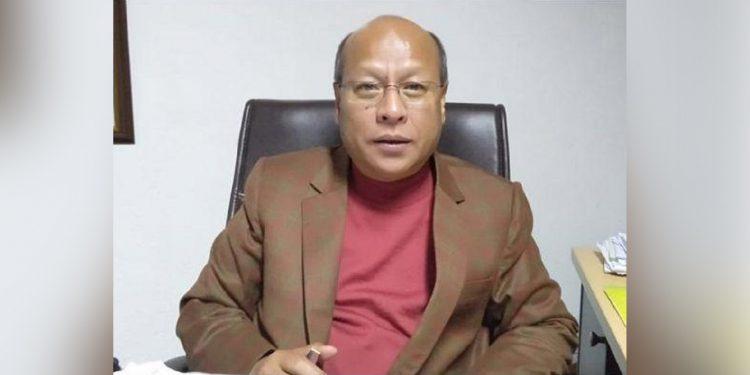 Meghalaya Deputy CM Prestone Tynsong. Image credit: Meghalaya Times