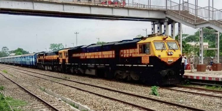Special trains carrying passengers