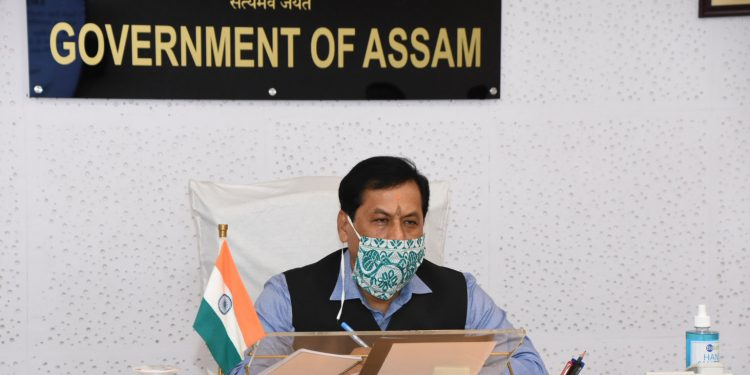 Assam Chief Minister Sarbananda Sonowal is in a meeting with the Power Companies