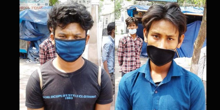 The two Lakhimpur youths. Image: Northeast Now