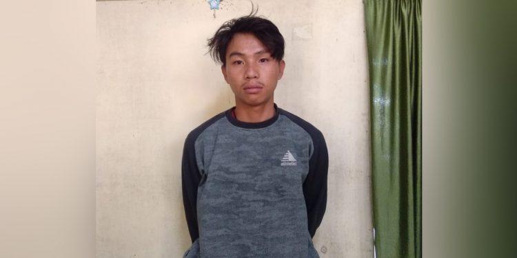 Arrested drug peddler. Image: Northeast Now