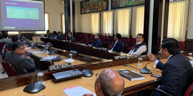 Meghalaya cabinet on Friday discussed the Chief Minister's Economic Task Force